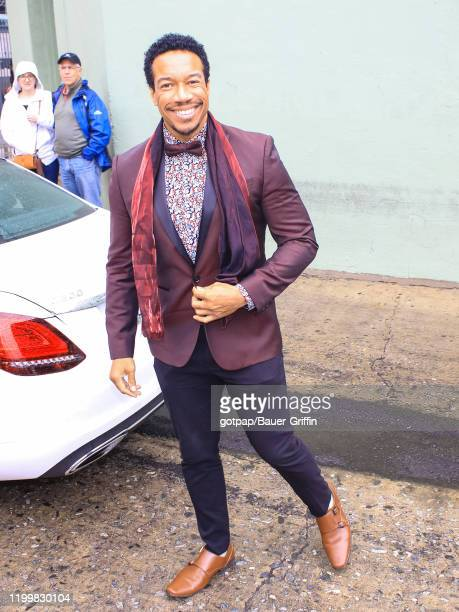 Rico E. Anderson is seen on February 09, 2020 in Los Angeles, California.
