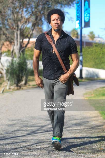 Rico E. Anderson is seen on January 15, 2021 in Los Angeles, California.