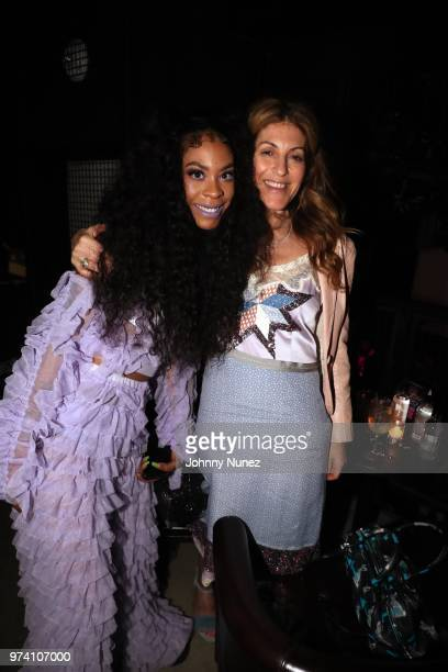 Rico Nasty and Julie Greenwald attend the Atlantic Records Access Granted Showcase on June 13 2018 in New York City
