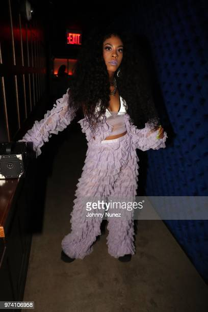 Rico Nasty attends the Atlantic Records Access Granted Showcase on June 13 2018 in New York City