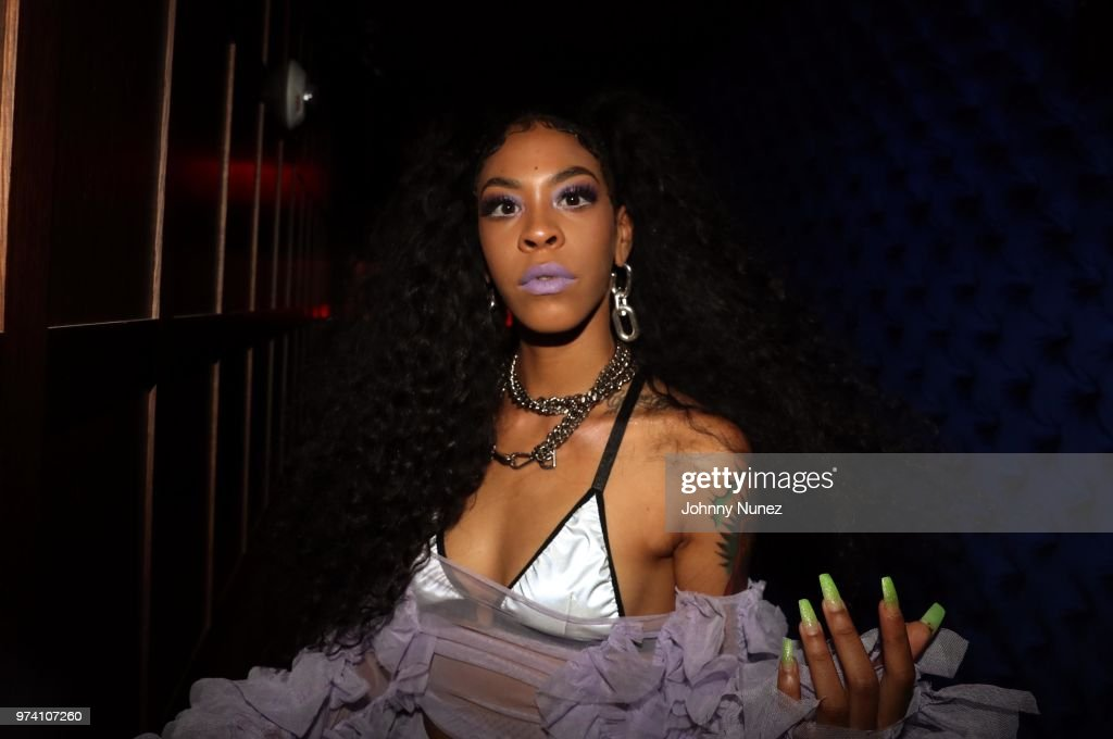 Rico Nasty attends the Atlantic Records Access Granted Showcase on June 13, 2018 in New York City.