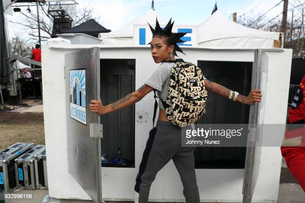 Rico Nasty attends The Fader Fort 2018 Day 3 on March 16 2018 in Austin Texas