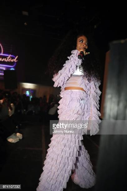 Rico Nasty performs at the Atlantic Records Access Granted Showcase on June 13 2018 in New York City