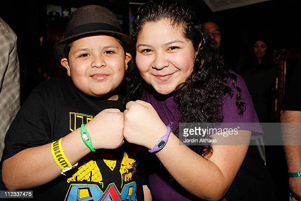 Rico Rodriguez and Raini Rodriguez attend Melanie Segal's Oscar Lounge benefitting iHeartHollywoodProjectcom day 2 at House of Blues Sunset Strip on...