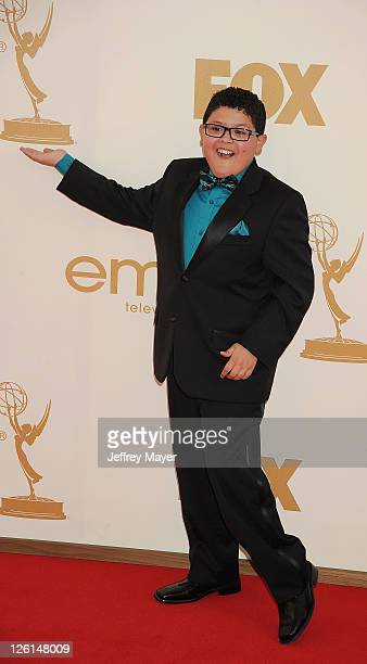 Rico Rodriguez arrives at the 63rd Primetime Emmy Awards at the Nokia Theatre LA Live on September 18 2011 in Los Angeles California