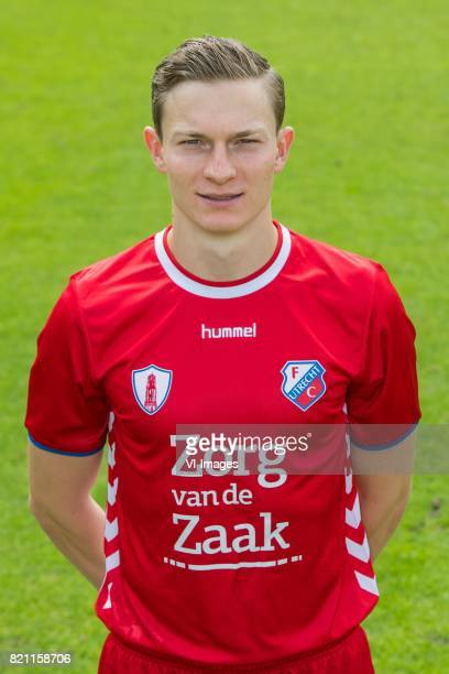 Rico Strieder during the team presentation of FC Utrecht on July 22 2017 at Sportcomplex Zoudenbalch in Utrecht The Netherlands