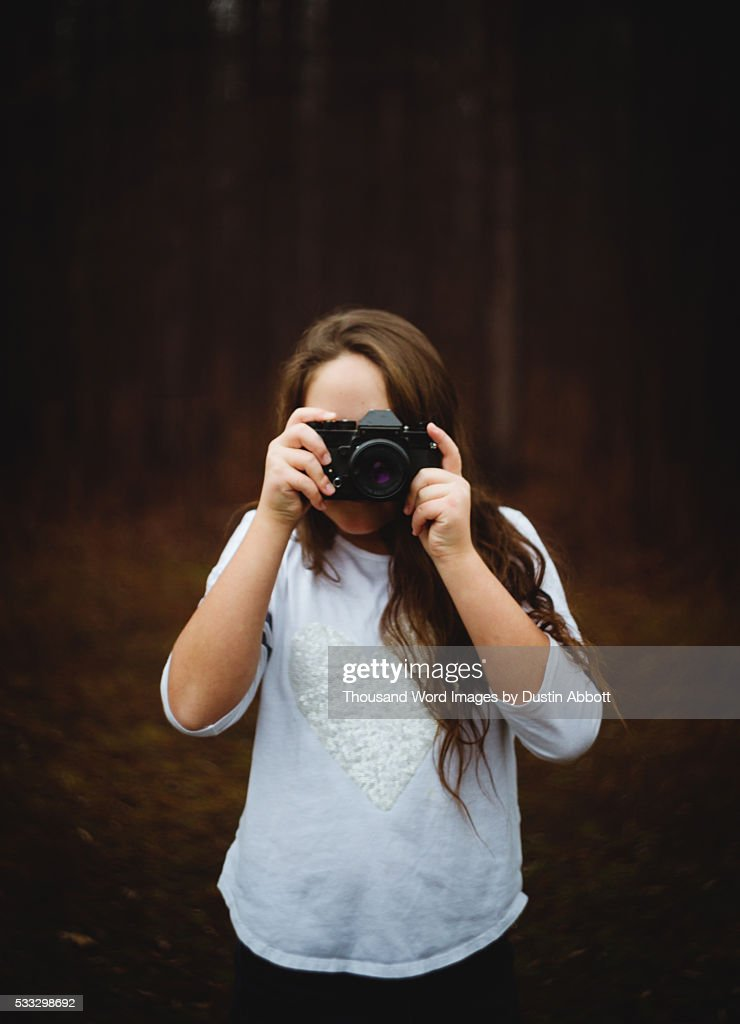 Ricoh Girl : Stock Photo