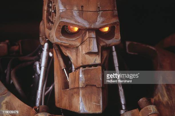 Rico's combat robot from the dystopian scifi film 'Judge Dredd' 1995