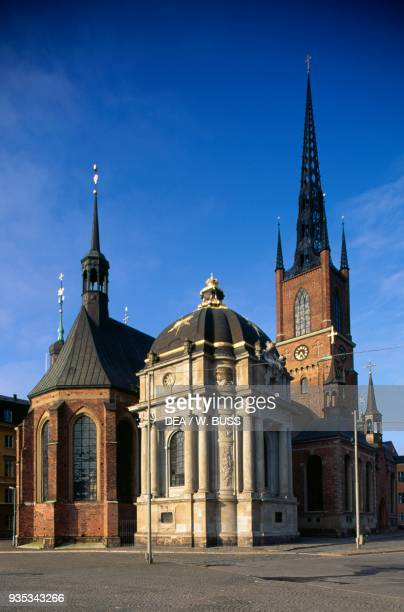 Riddarholm Church , island of Riddarholmen, Stockholm, Sweden, 13th-15th century.