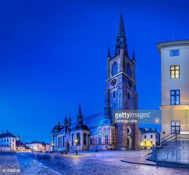 riddarholmen church, stockholm, sweden - riddarholmkirche stock-fotos und bilder
