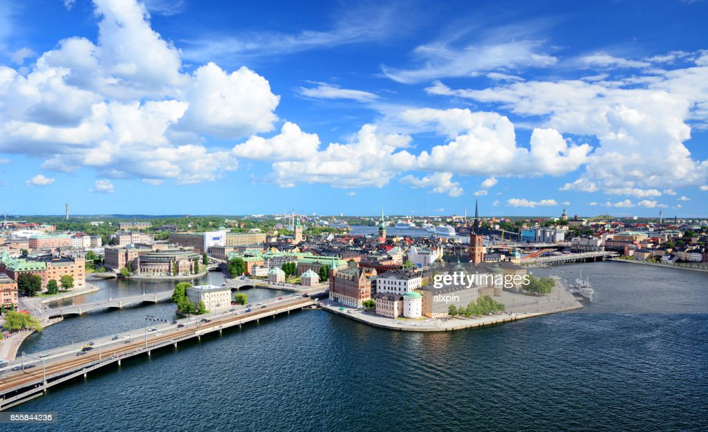 Riddarholmen island, Stockholm : Stock Photo