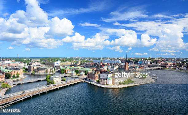 riddarholmen island, stockholm - stockholm stock pictures, royalty-free photos & images