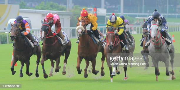 KONG ridden by Ben So Tikhung won the barrier trial batch 2 over 1200Metres CHOICE TREASURE ridden by Tye Angland GOLDFUN ridden by Douglas Whyte...