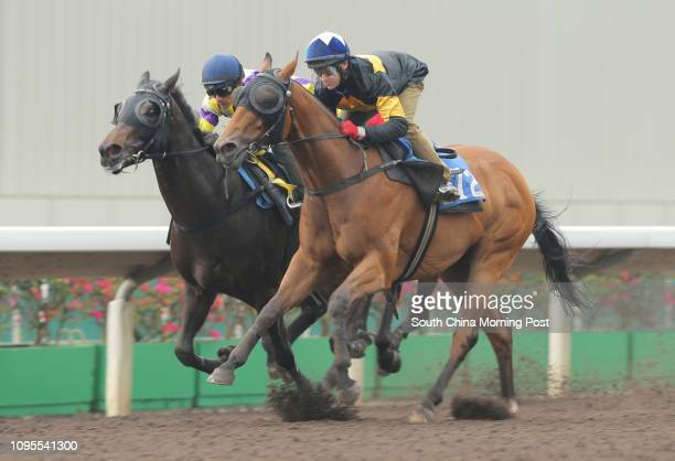 HO ridden by Brett Prebble won the barrier trial batch 9 over 1200Metres at Sha Tin on 17Mar15