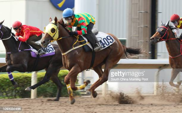 DANCE ridden by Keith Yeung Minglun trial in batch 3 over 1200Metres at Sha Tin 15SEP17