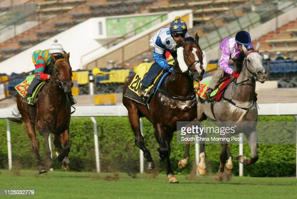 ridden by Marco Chui Kwanlai won the barrier trial batch 3 over 1000 Metres at Sha Tin DIAGHILEV ridden by Olivier Doleuze and CLEAR WIN ridden by...