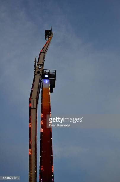 ride arm - calgary stampede stock pictures, royalty-free photos & images