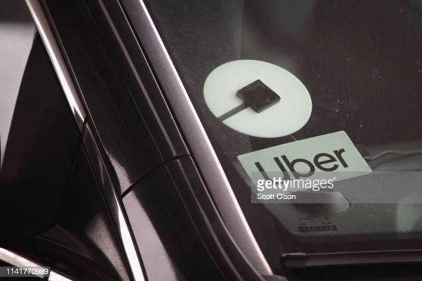 A ride share driver picks up passengers at O'Hare Airport on April 10 2019 in Chicago Illinois In response to the death of 21yearold University of...