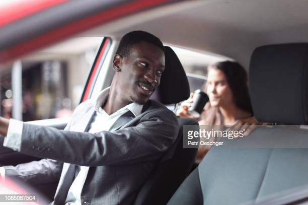 ride sharing. - car pooling stock photos and pictures
