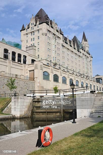 Rideau Canal Lock, Ottawa, Canada