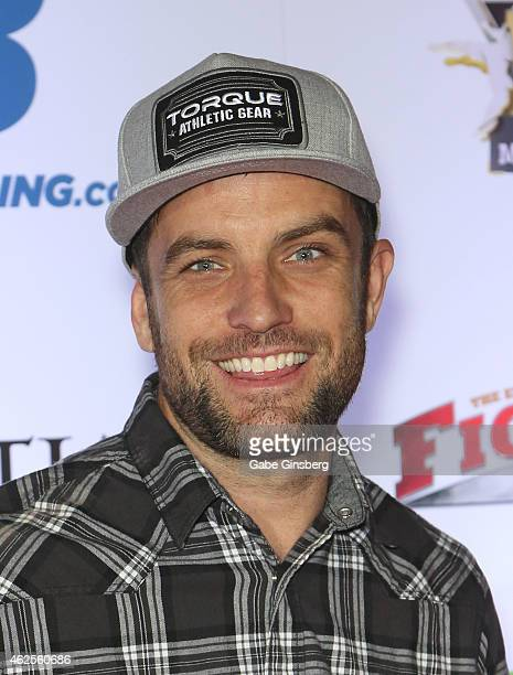 BMX rider and television host TJ Lavin arrives at the seventh annual Fighters Only World Mixed Martial Arts Awards at The Palazzo Las Vegas on...