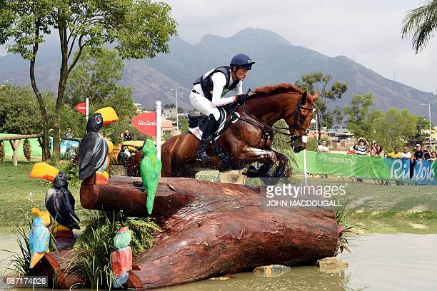US rider Boyd Martin on Blackfoot Mystery competes during the Eventing's Individual Cross Country of the Equestrian during the 2016 Rio Olympic Games...