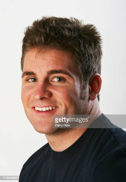 Rider Donny Robinson poses for a portrait during the Athlete Summit at Smashbox Studios on November 15, 2007 in West Hollywood, California.