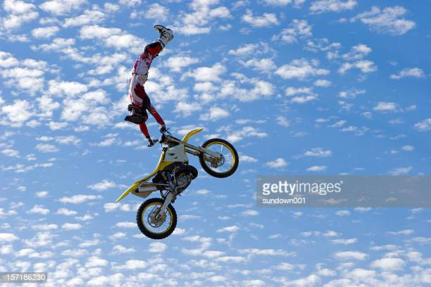 fmx rider - scrambling stock photos and pictures