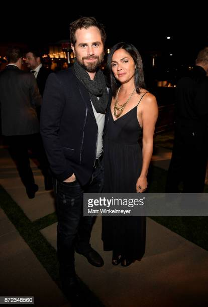 Rider Strong and Alexandra Barreto attend the SAGAFTRA Foundation Patron of the Artists Awards 2017 at the Wallis Annenberg Center for the Performing...