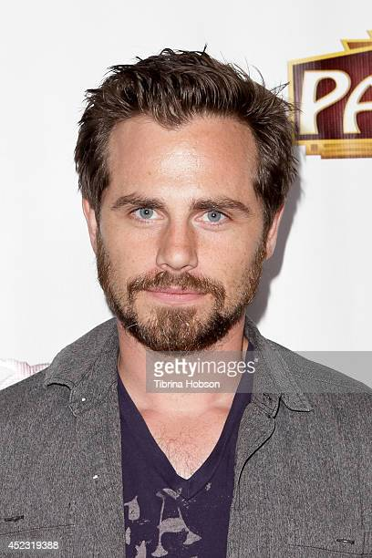 Rider Strong attends the 'Once' premiere in Los Angeles at the Pantages Theatre on July 17 2014 in Hollywood California
