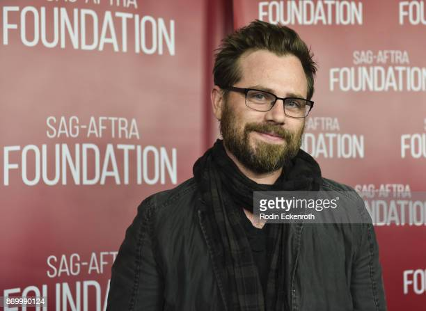 Rider Strong poses for portrait at the SAGAFTRA Foundation Conversations screening of 'Star vs The Forces of Evil' at SAGAFTRA Foundation Screening...
