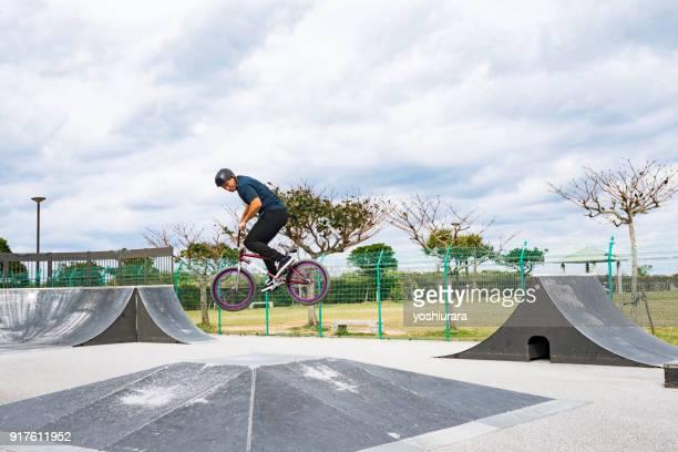 沖縄県で活躍されている BMX ライダー