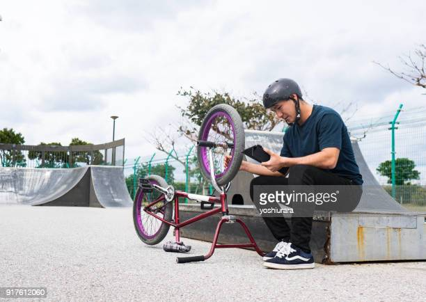 BMX rider who is active in Okinawa, Japan