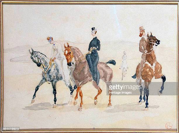 'Riders' 1880s ToulouseLautrec Henri de Found in the collection of the State Hermitage St Petersburg