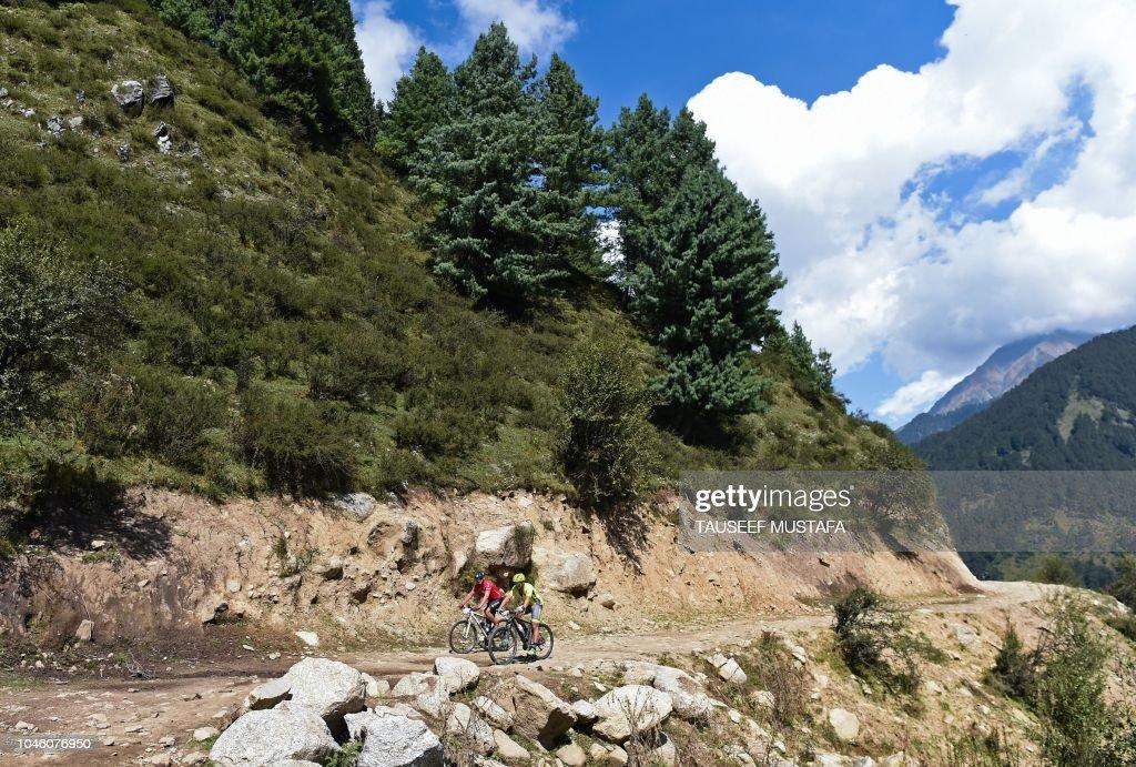 CYCLING-MOUNTAIN-BIKE-IND : News Photo