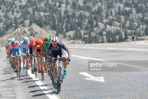 Riders during the fourth stage of the 52nd Presidential Tour of Turkey 2016 the 187 km from Seydisehir to Alanya On Wednesday 27 April 2016 in Alanya...