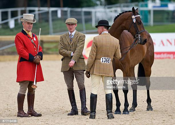 Riders in the Small Riding Horse class take part in the second day of the Royal Windsor Horse Show on May 14 2009 in Windsor England