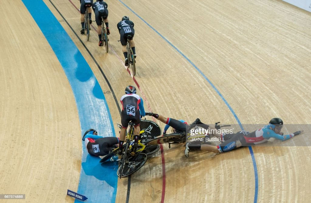 CYCLING-HKG-WORLD-TRACK : News Photo