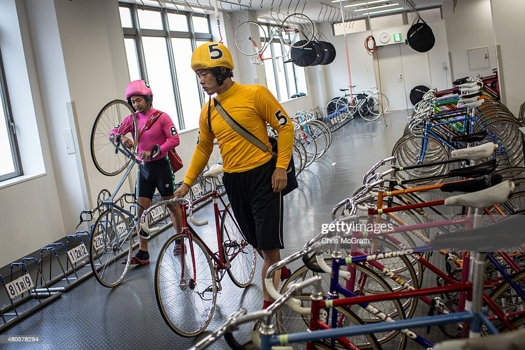 Betting On Bike Racing: Keirin Culture In Japan : Foto di attualità
