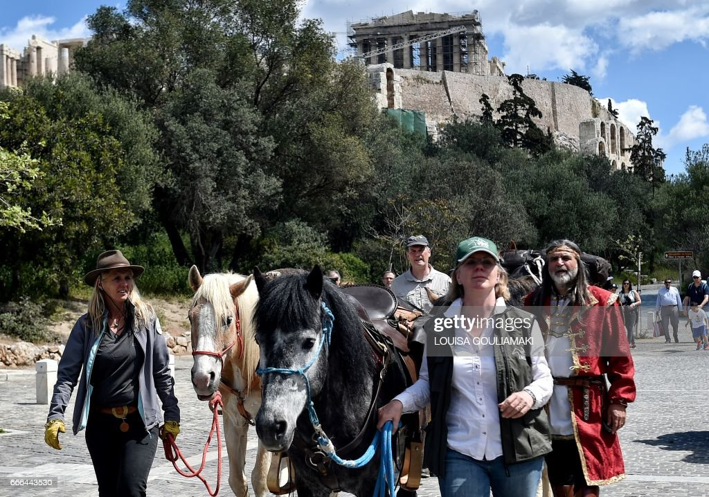 GREECE-GERMANY-ARTS-DOCUMENTA : News Photo