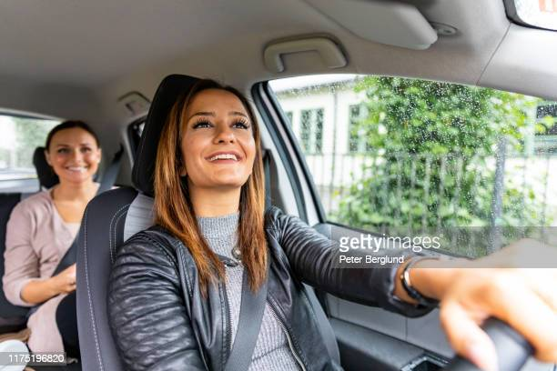 ridesharing - passenger stock pictures, royalty-free photos & images