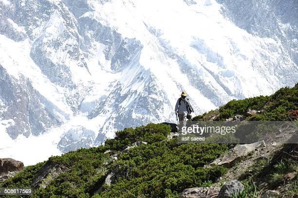 Ridge in Batura Valley, Pakistan.