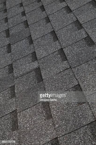 ridge vent on a building roof - herpes zoster foto e immagini stock