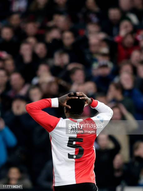Ridgeciano Haps of Feyenoord during the Dutch Eredivisie match between Feyenoord v Heracles Almelo at the Stadium Feijenoord on October 20 2019 in...