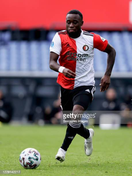 Ridgeciano Haps of Feyenoord during the Dutch Eredivisie match between Feyenoord v Sparta at the Stadium Feijenoord on October 18 2020 in Rotterdam...