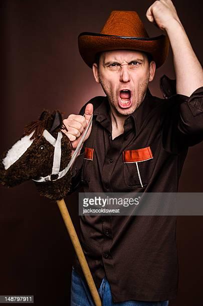 ridículo cowboy - homens de idade mediana imagens e fotografias de stock