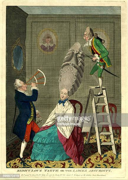 Ridiculous taste or the ladies absurdity 1771 Found in the collection of British Library Artist Darly Matthew