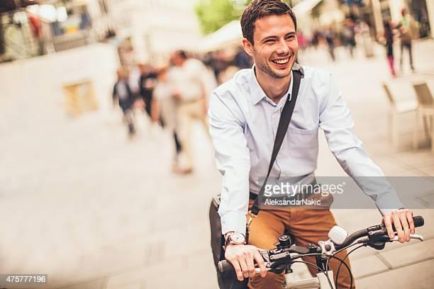 Reiten ein Fahrrad