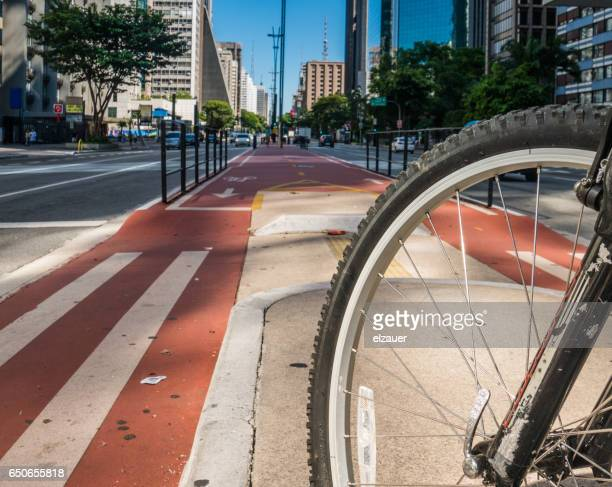 Riding a Bycicle in Sao Paulo