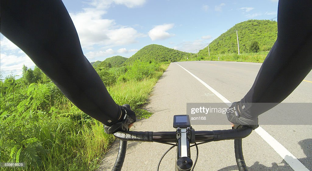 riding bicycle : Stock Photo